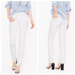 J. Crew Factory Matchstick Skinny Jeans White 29S